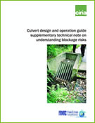 Culvert design and operation guide supplementary ...