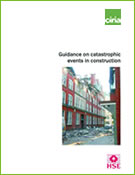 Guidance on catastrophic events in construction