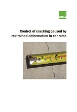 Control of cracking caused by restrained deformation in ...